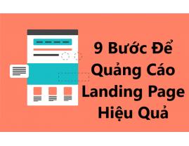 9 Bước Để Quảng Cáo Landing Page Hiệu Quả