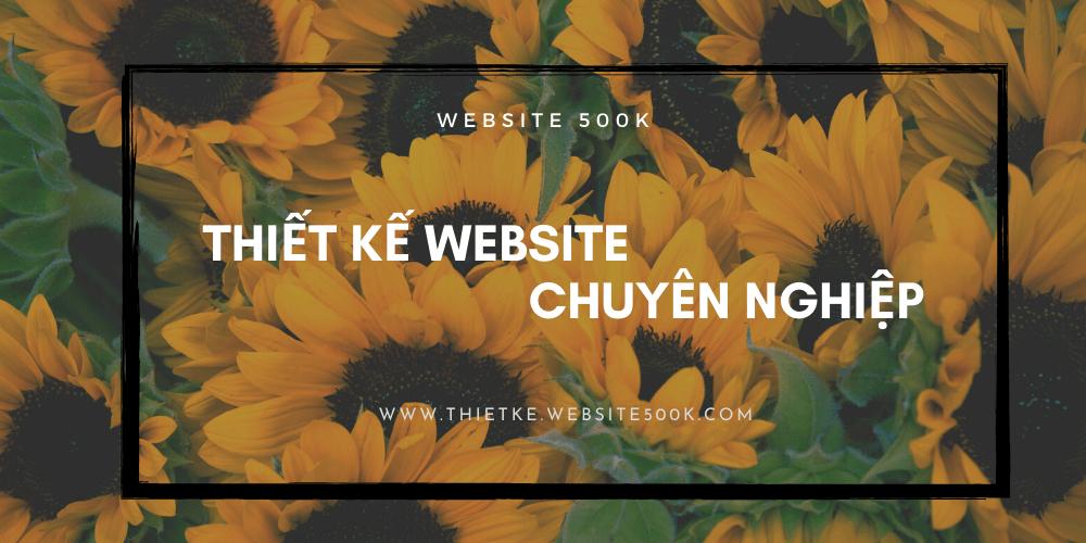 Bạn nên sở hữu Website hoa tươi bắt mắt, chuyên nghiệp